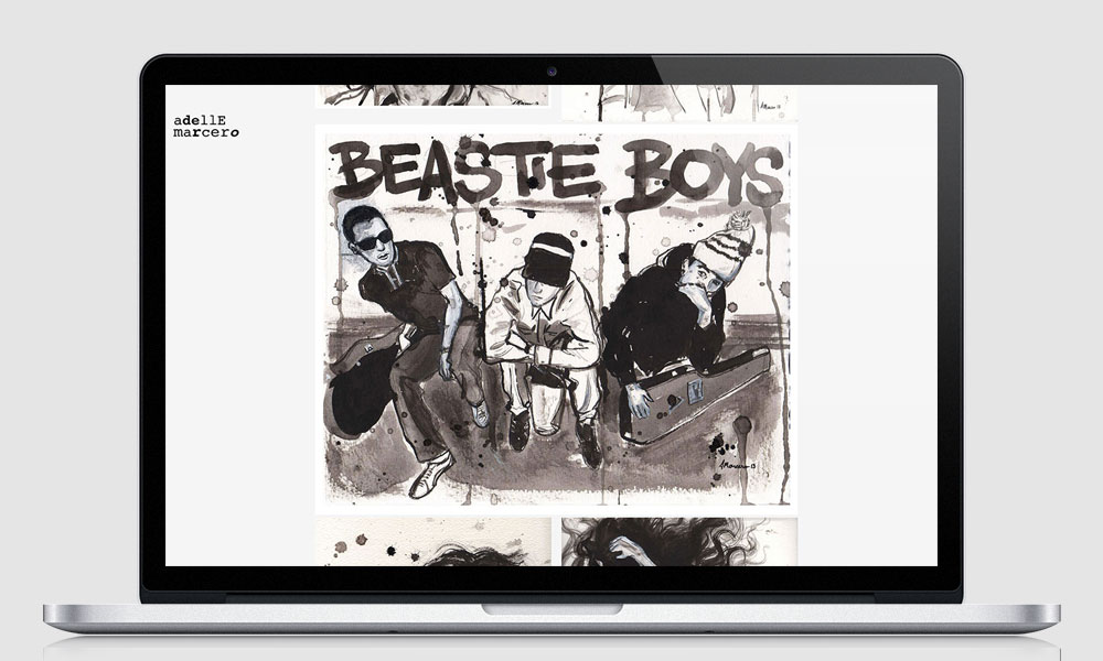 The Beastie Boys by Adelle Marcero