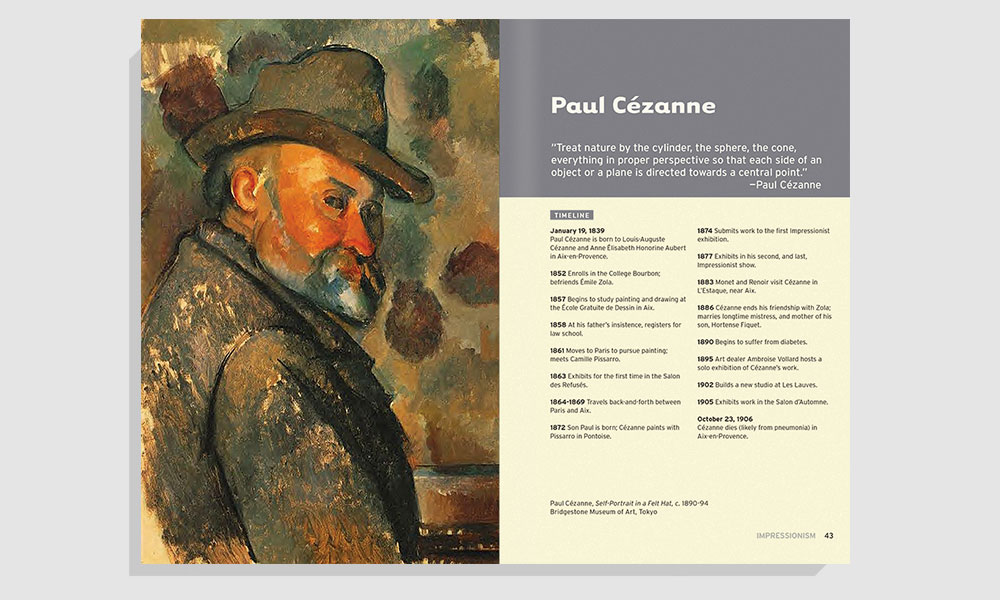 Paul Cézanne spread