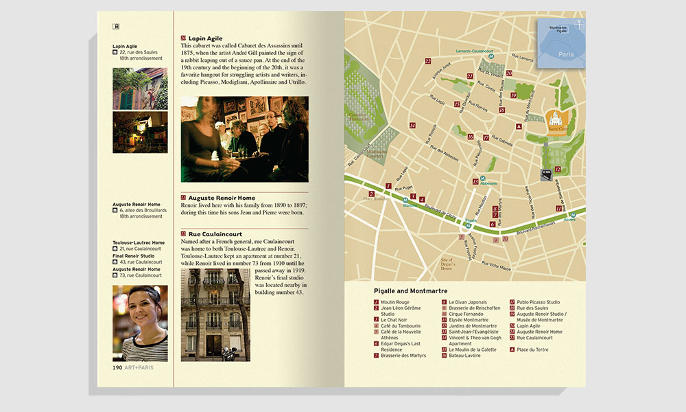 Walking Tour page